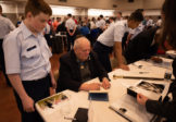 Cap Cadets Help Medal of Honor Recipients